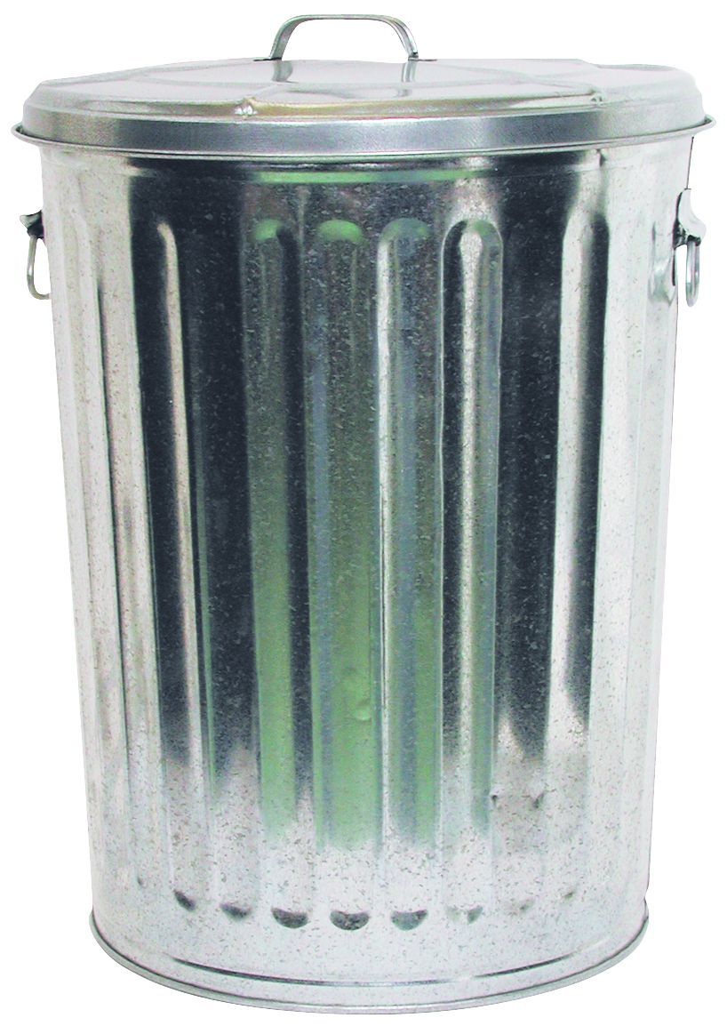 build a faraday cage with a galvanized trash can